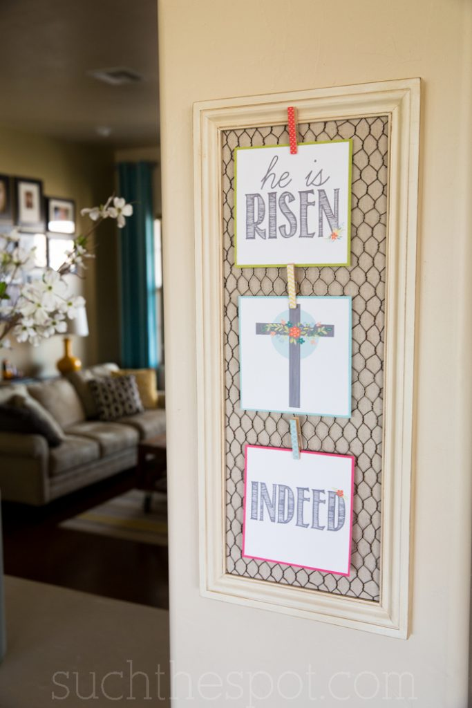 He is Risen indeed! Print this awesome wall art and proclaim the amazing resurrection of our Lord.