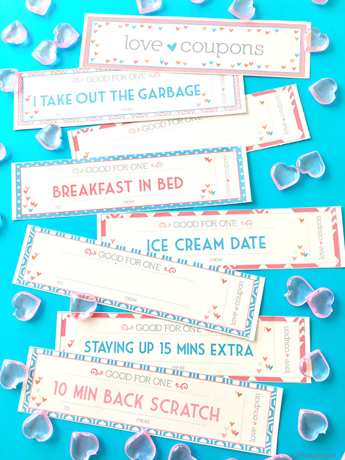 Print these cute coupons. Your spouse will be so honored you will do these things for him!