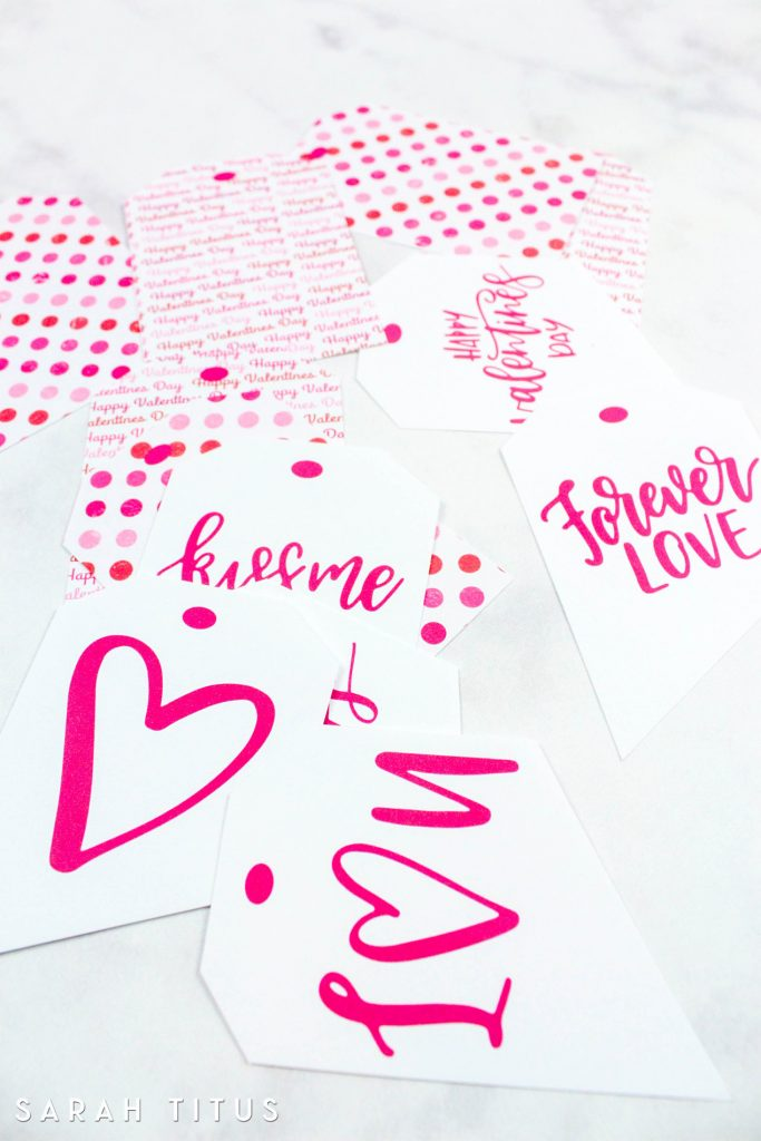 image about Valentine Gift Tags Printable identified as Totally free Printable Valentine Reward Tags - Sarah Titus