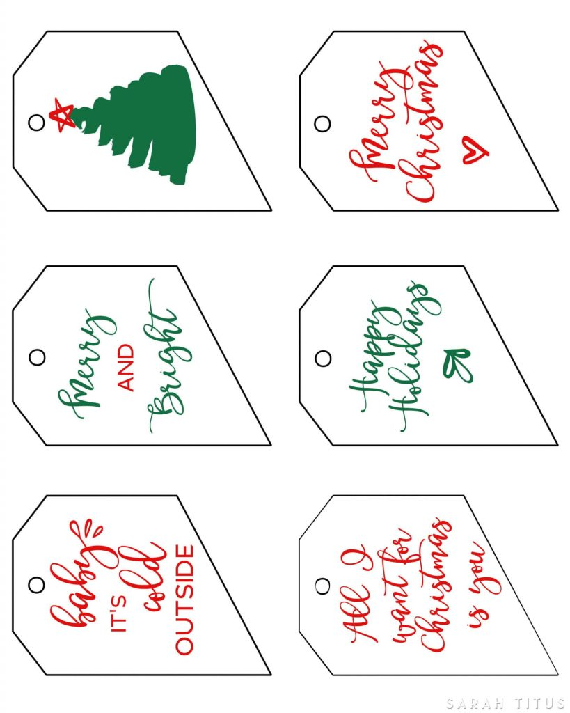Have you started buying your Christmas Presents yet? These Free Printable Christmas Gift Tags are not only beautifully designed, but also FREE!
