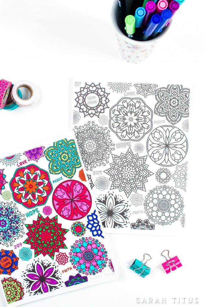 Coloring is not just for kids, yo!This amazing Free Printable Flowers Coloring Sheet has everything you need for you to have a fun and relaxing time coloring. #coloringsheets #coloringpages #freecoloringpages #freecoloringsheets #freeprintables #freecoloringprintables