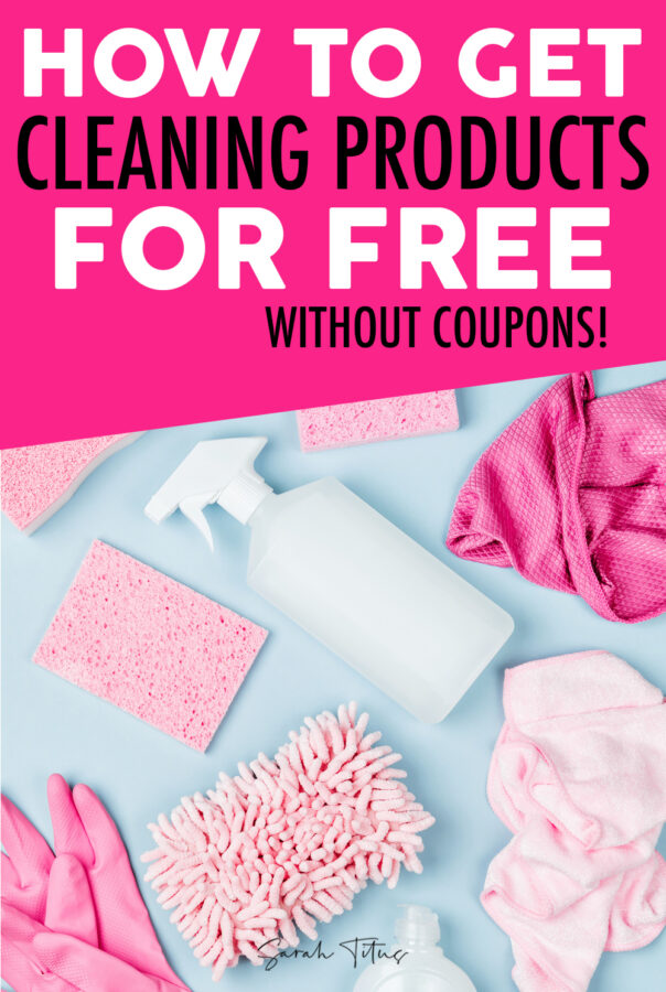 How to Get Your Household Products Free {Without Coupons}