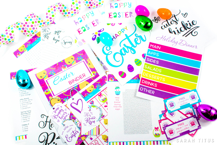 Do you lose your mind during Easter? Get in charge, and get everything you need to get done and more with the Easter Binder Free Printables! Believe me, you will be able to enjoy this holiday in a way you haven't done before!