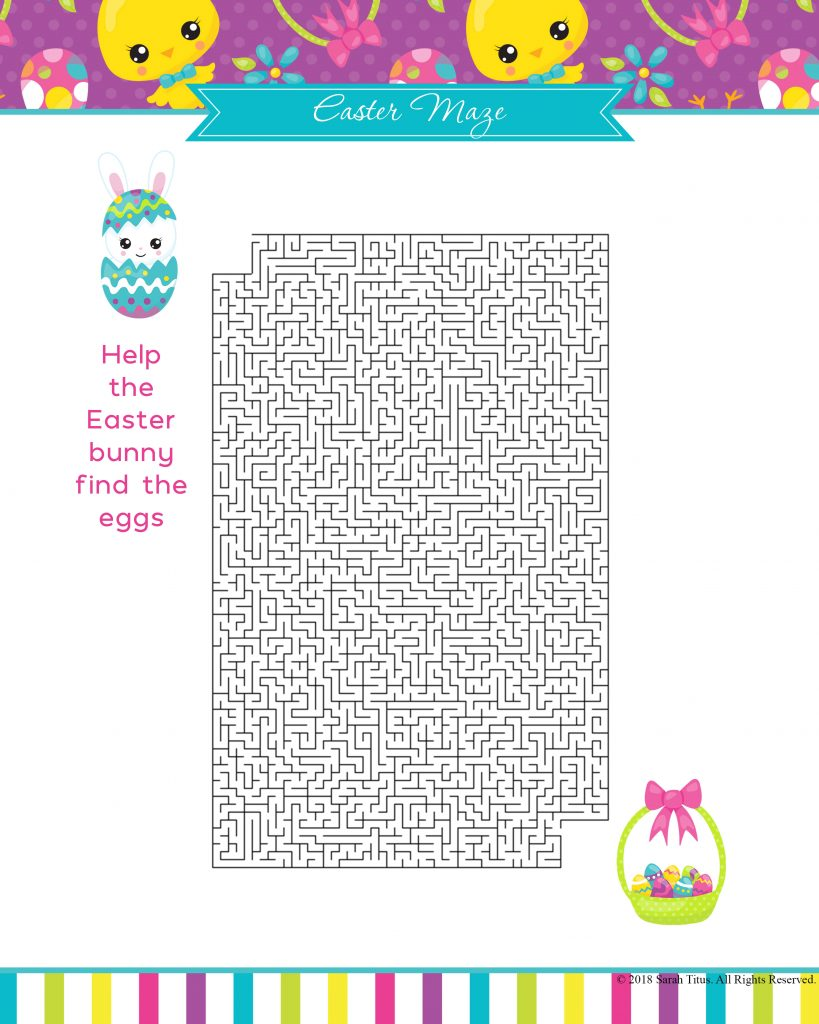 Since Easter is coming pretty soon - YAY! - I designed these super cool Free Printable Easter Games Your Family Will Love. They are so much fun, and best of all free :) Print as many copies as you want and play along with your little ones!