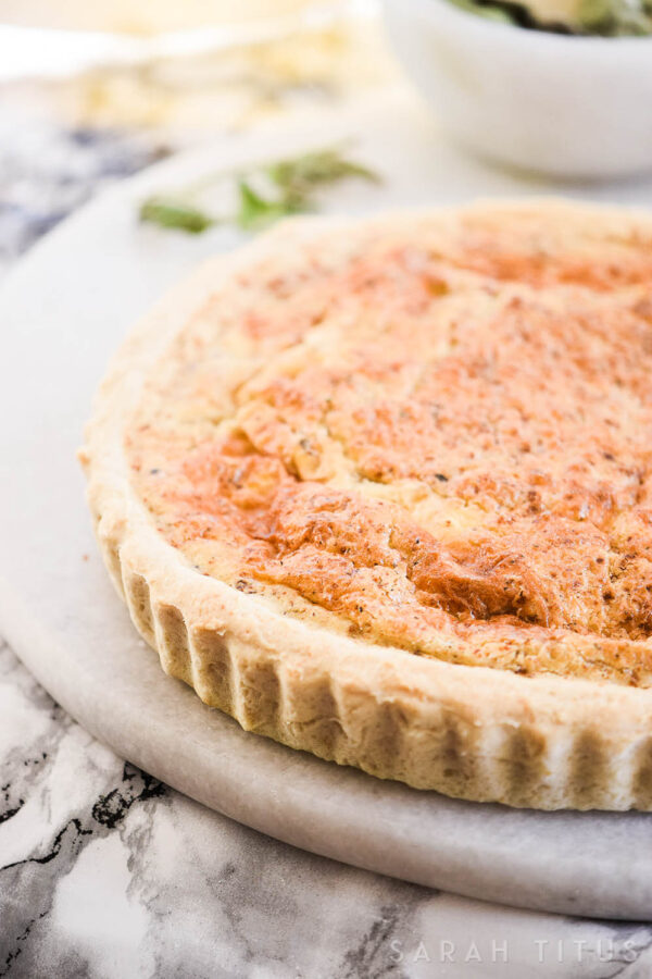 Are you hosting a brunch or just want to make something quick and delicious? This Super Easy Quiche is so simple, but so good that you will be back for seconds, and maybe thirds!