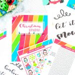 If you're an organization freak like me who just loves having everything all nice and tidy in one spot, this Christmas binder free printables set is for you!