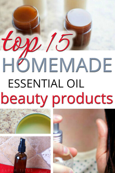 Making your own homemade essential oil beauty products literally couldn't be easier and you probably have many of the ingredients already on hand. Here's the top 15 countdown!