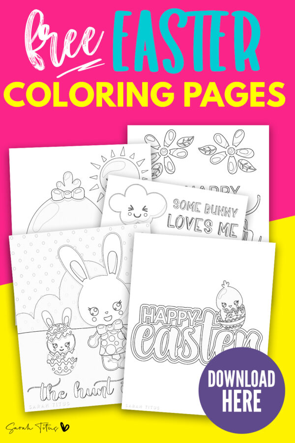 83 Best Easter Coloring Pages | Free Printable PDFs to Download | 900x600