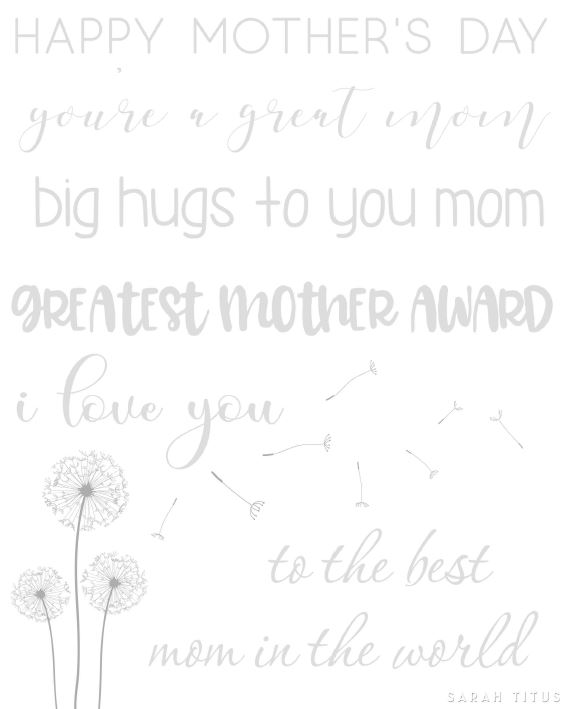 Mother's Day is around the corner, and with my obsession for Hand Lettering I couldn't miss a chance to keep practicing my skills! Come and join me on this adventure by tracing on this Happy Mother's Day Free Hand Lettering Practice Sheet.
