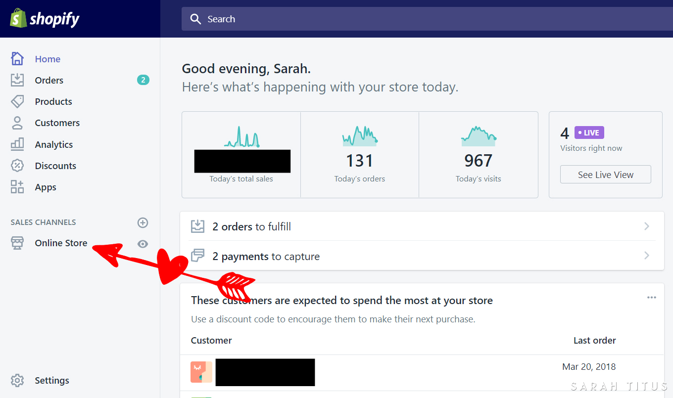 "Does the ""Powered by Shopify"" byline bug you? It bugged me too. Here's a step by step guide of how to remove it. Trust me, it's super duper simple!"