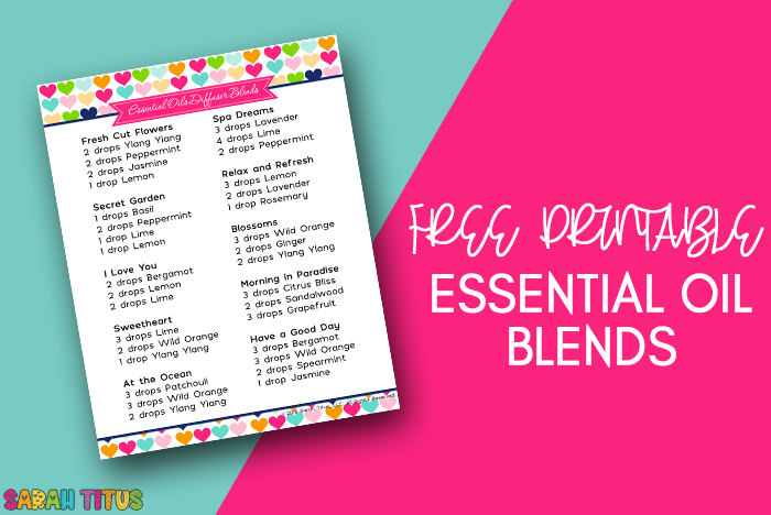 Get this free printable Moms Essential Oil Diffuser Blends, inspired by your amazing kindness and love!  #moms #essentialoils #essentialoilsdiffuserblends