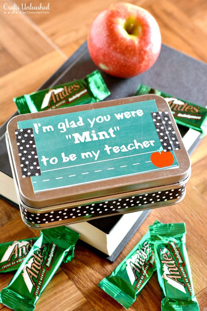 A great idea to make you child's teacher to feel appreciated!