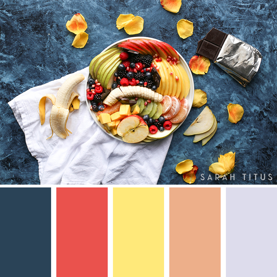Who said that food is just for eating? Get tons of ideas for your parties, blog, or home decor with these super beautiful 25 Top Food Color Palettes. #foodpalettes #palettes #foodinspiration #beautifulcolors #colorsthatgowelltogether #tipsfordesigning