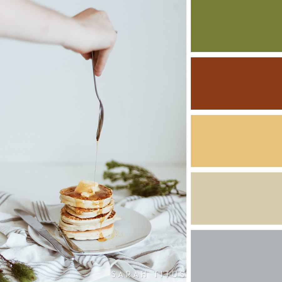 If you're a printables designer, everything inspires you, but one thing most designers DON'T think of is to take inspiration from food! Catch these 25 top pretty color schemes for creating printables...all inspired by recipes! #prettycolorschemes #creatingprintables #printablesdesign