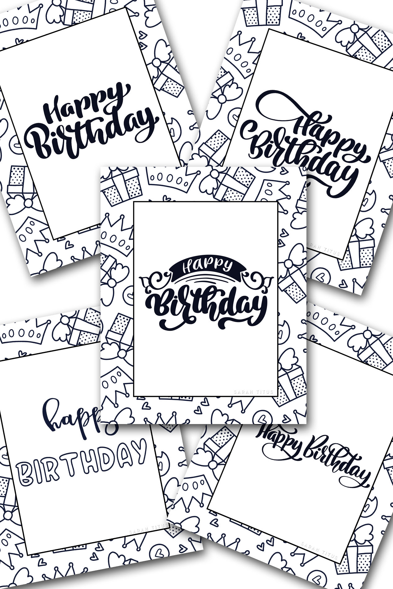 picture relating to Printable Happy Birthday Coloring Pages titled 60 Excellent Cost-free Printable Delighted Birthday Coloring Sheets