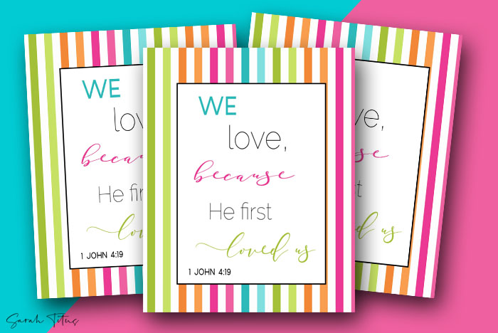 Scripture Writing Binder {415+ pages}