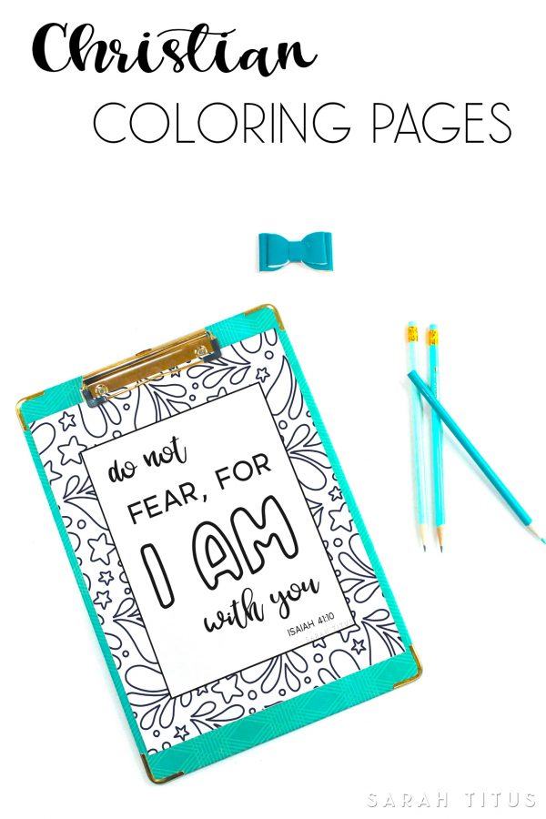 If you need spiritual inspiration and relaxation, download these Christian Coloring Pages and start relaxing! #christiancoloringpages #coloringpages #adults