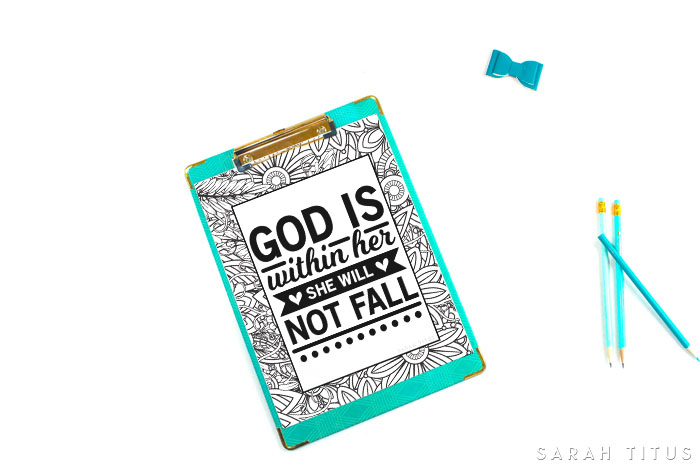 Need encouragement? Try these Christian Free Coloring Printables That Will Give You Confidence! #freecoloringprintables #coloringpagesforadults #printables