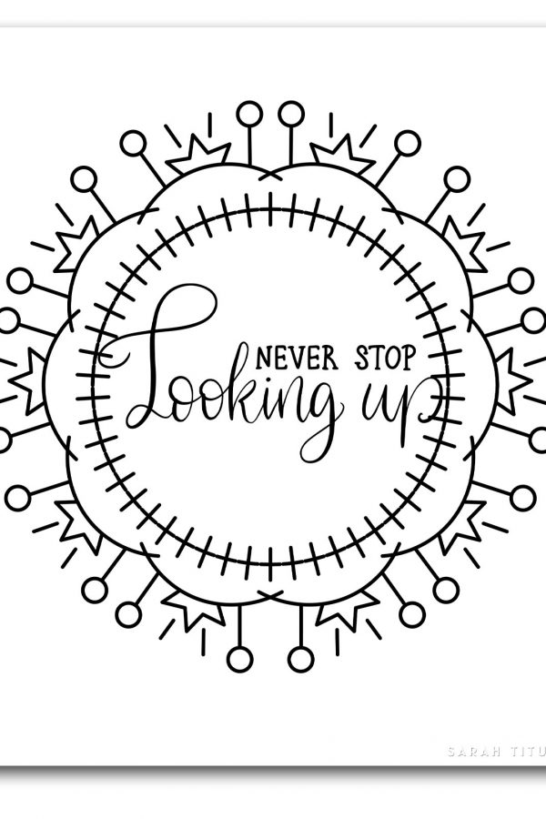 Lost your creativity or inspiration? Try these Free Printable Modern and Cool Coloring Pages! #coloringpagesforadults #coolcoloringpages #freeprintable
