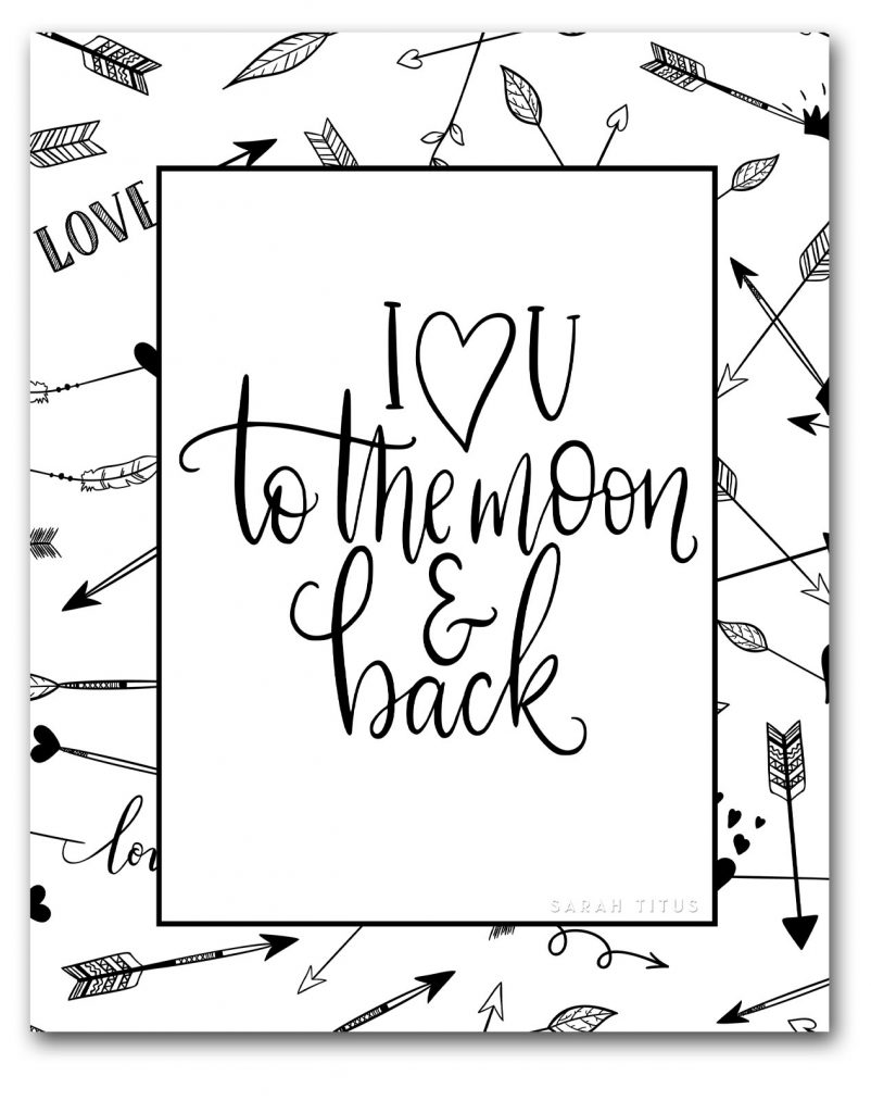 Have fun sharing your love with these Free Heart Coloring Pages to Color! #coloringpagesforadults #freeprintables #onlinecoloring #heartcoloringpages