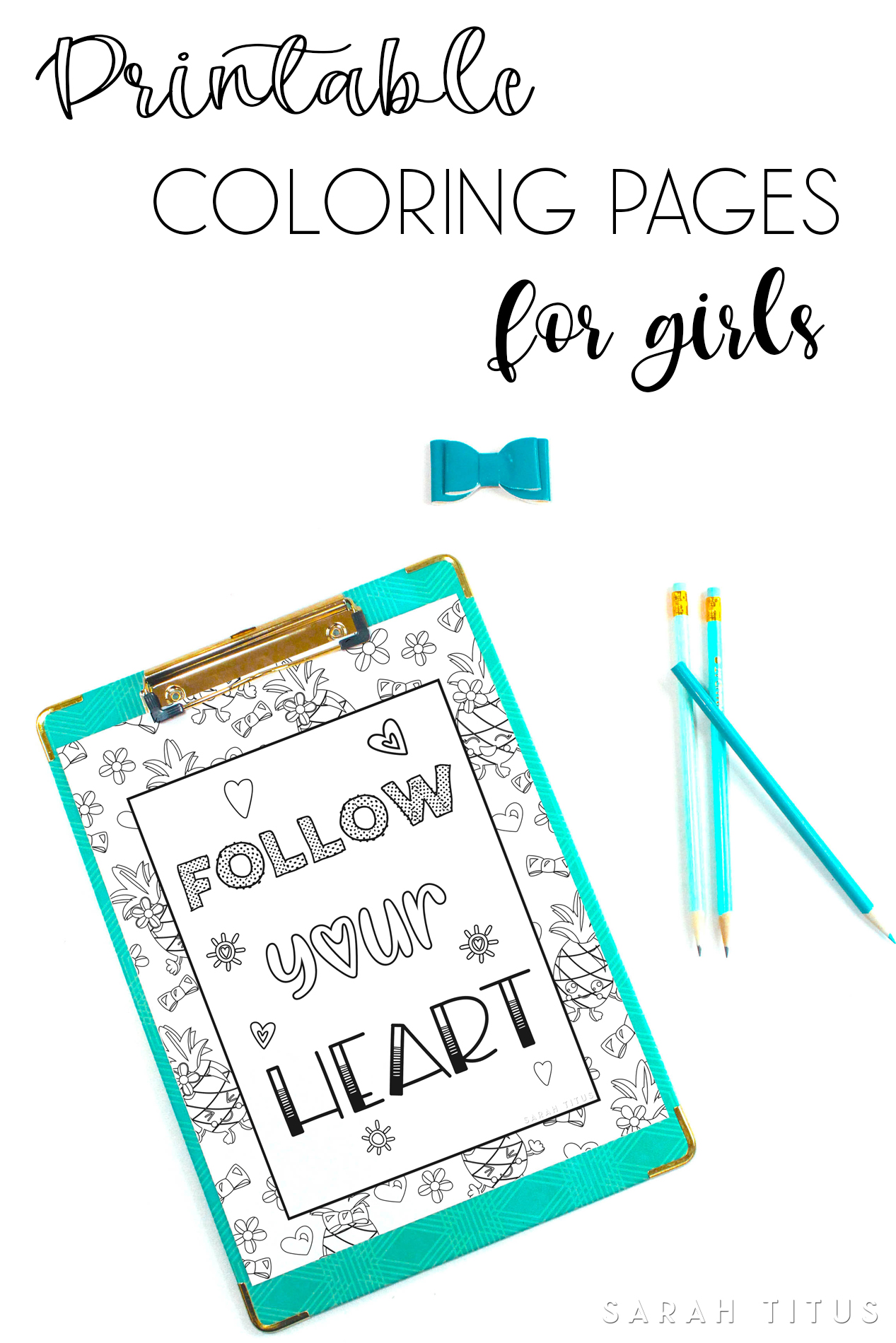 Printable Coloring Pages For Girls Sarah Titus From Homeless To 8 Figures