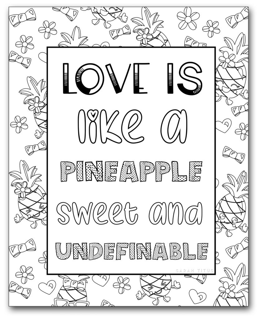 - Coloring Book For Adults Free Printables {Clean} - Sarah Titus