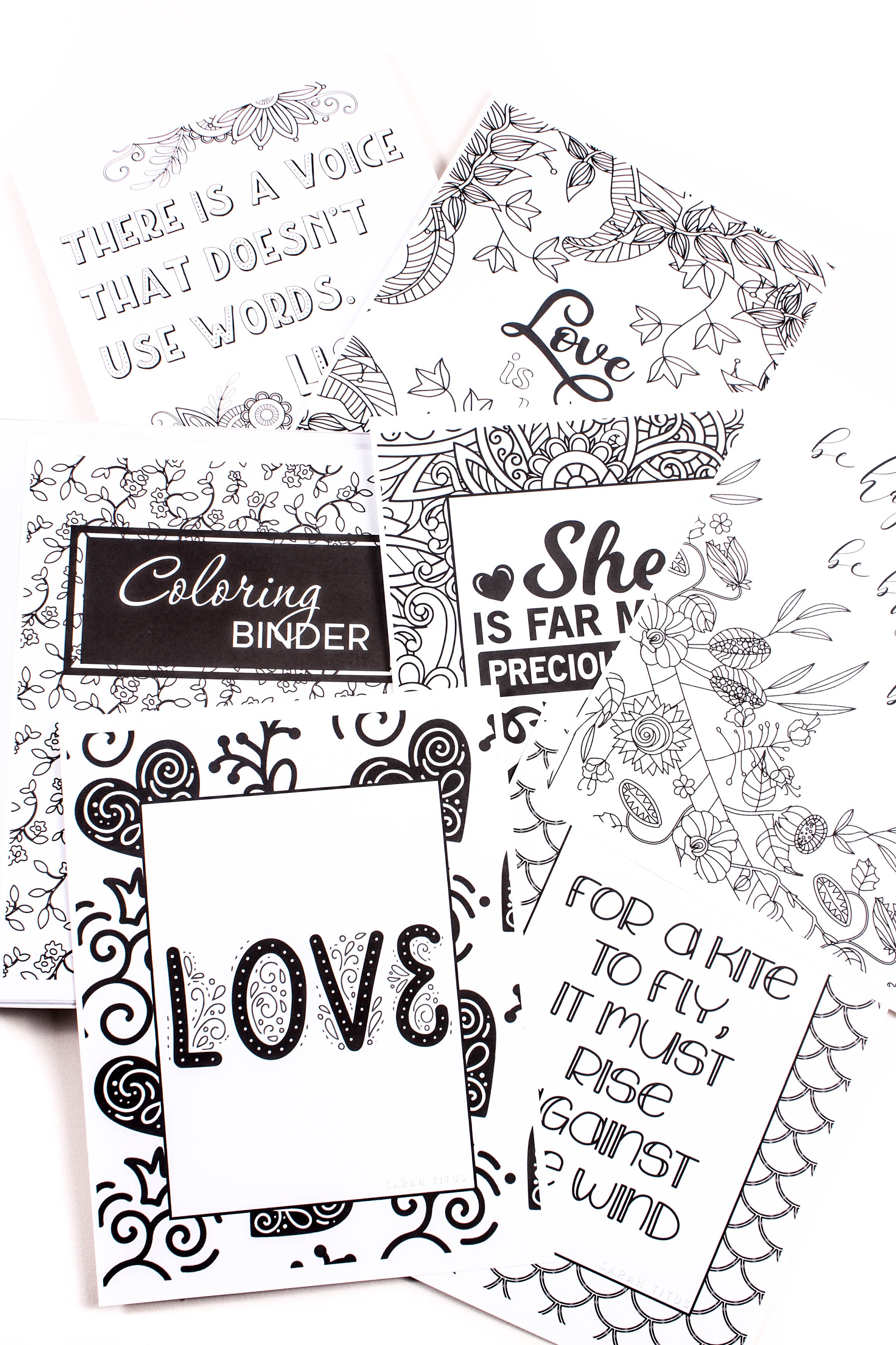 Free Printable Coloring Sheets Faith Hope Love Sarah Titus From Homeless To 8 Figures