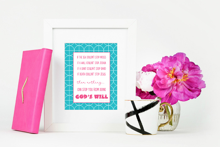Colorful inspirational spiritual quotes wall art to encourage you in your walk with Christ. #freeprintables #christianinspirationalwallart #inspirationalprintable #inspirationalspiritualquoteswallart