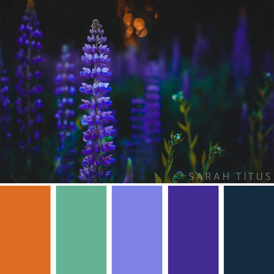 Need a shot of inspiration and creativity? These bright wedding flower-inspired color palettes are sure to help you with your project needs! #art