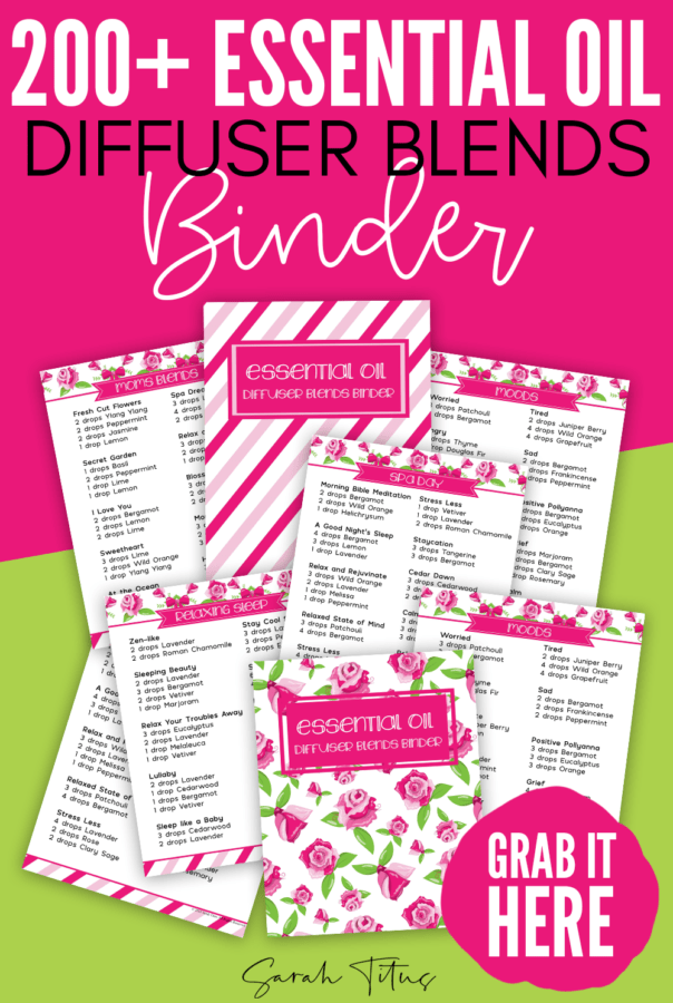 Essential Oil Recipes - 200+ Diffuser Blends Binder