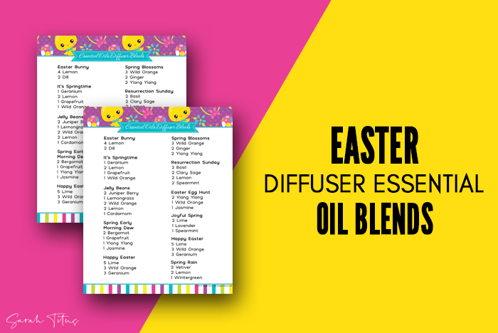 Easter Diffuser Essential Oil Blends