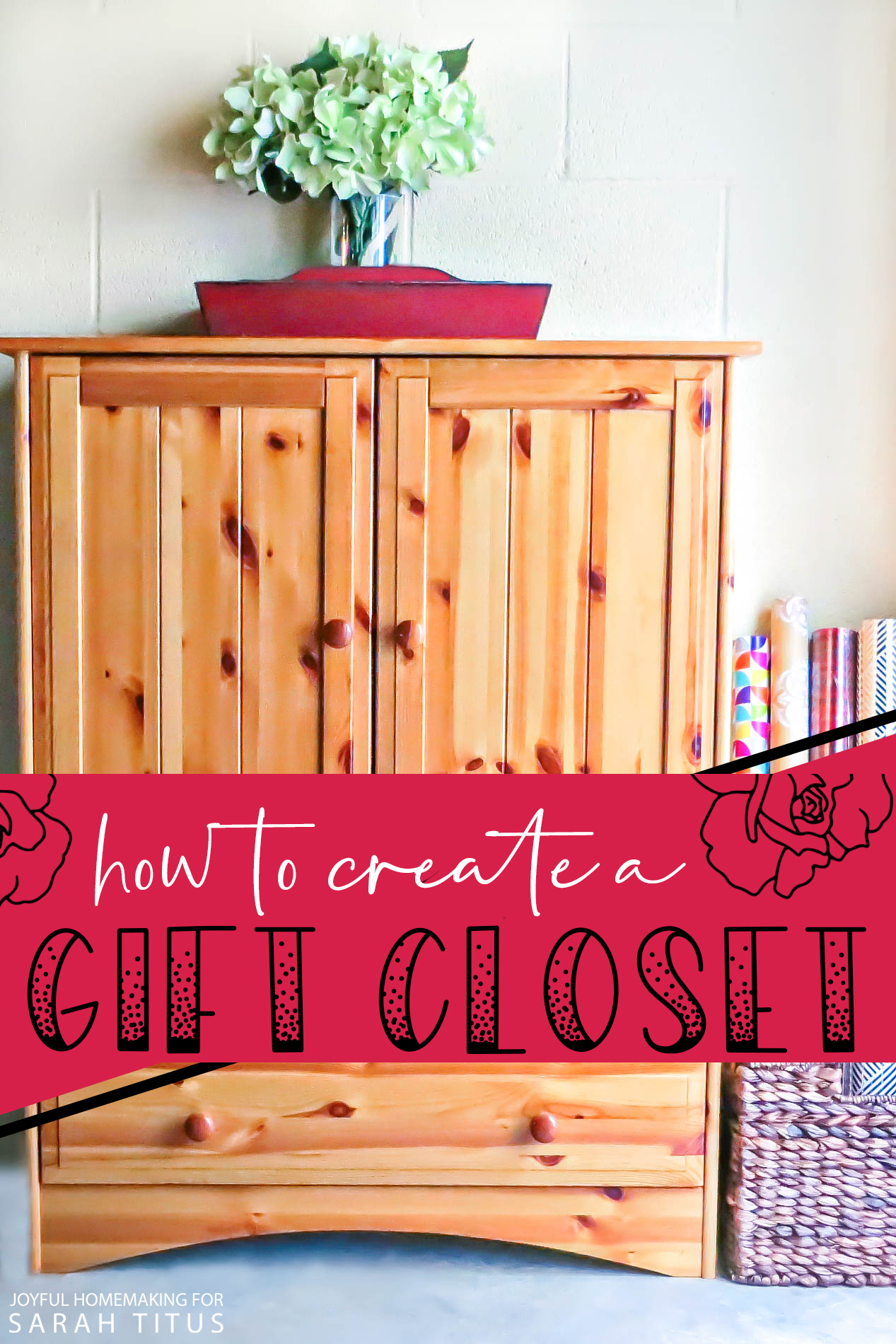 My secret to saving thousands of dollars every year: here's how to create a gift closet. #giftcloset #saveongifts #saveonpresents #livewellforless
