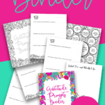 Coloring Gratitude Prompts Binder