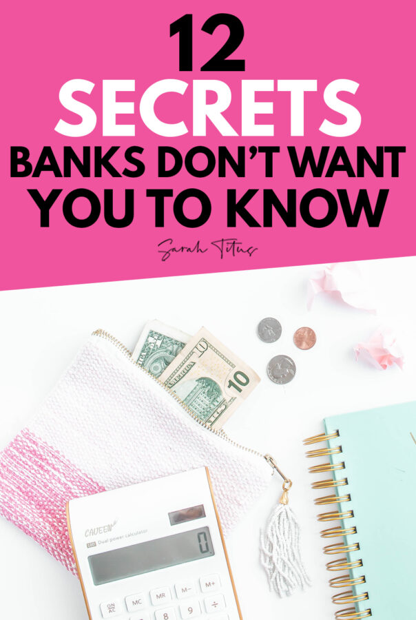 You won't want to miss this important information from my career as a former banker! Here's my top 12 secrets banks don't want you to know! Included are tips on protecting your personal bank account and money, credit unions, overdraft fees, bankers intentions, phishing scams and much more!