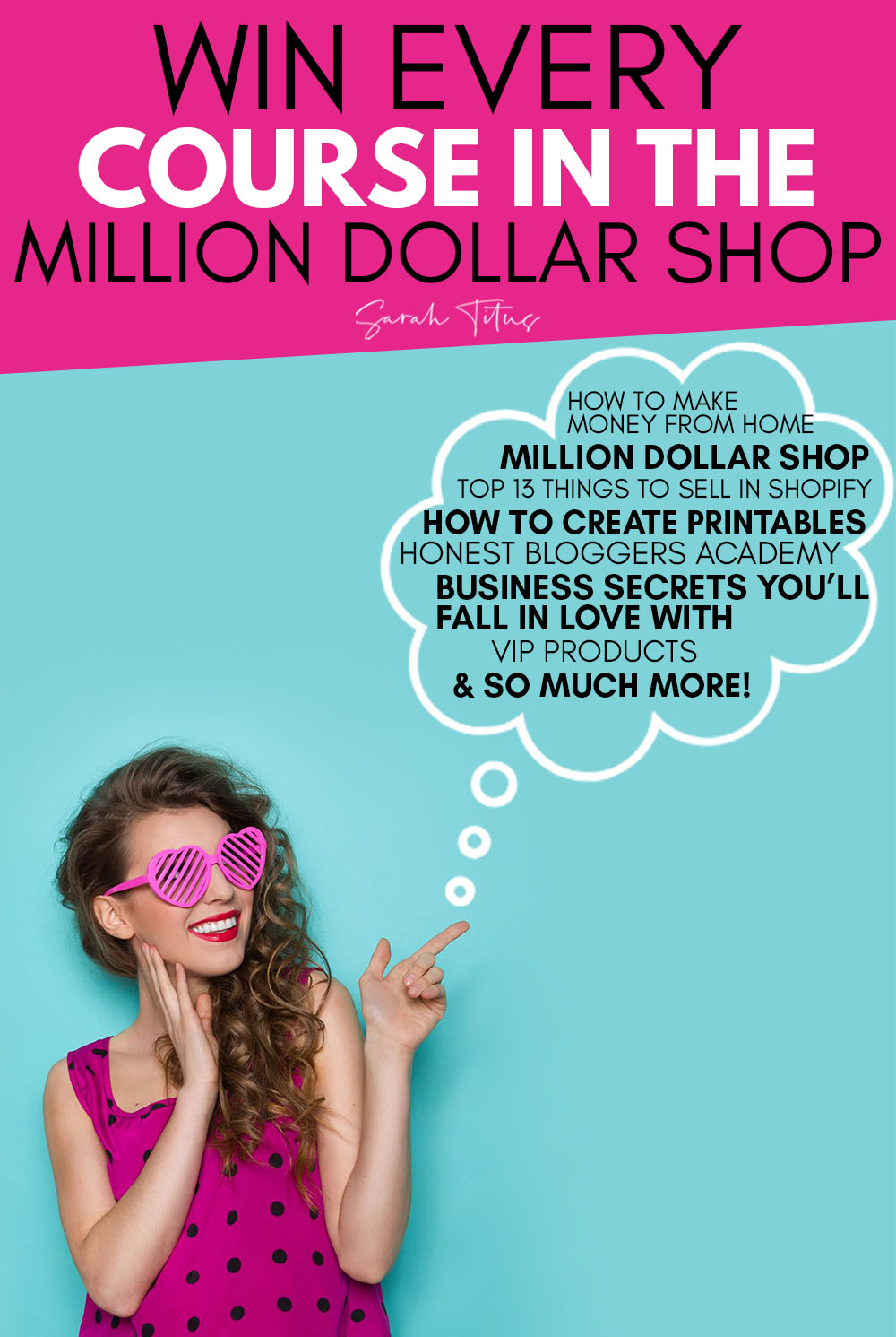 Million Dollar Shop Giveaway