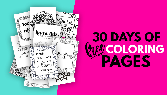 Coloring Book For Adults Free Printables {Clean} - Sarah Titus From  Homeless To 8-Figures
