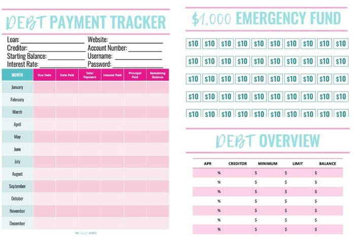 If you've been searching for a clean and simple debt payoff tracker, this one will get the job done. With just one sheet you can keep track of your loan payments for the entire year!