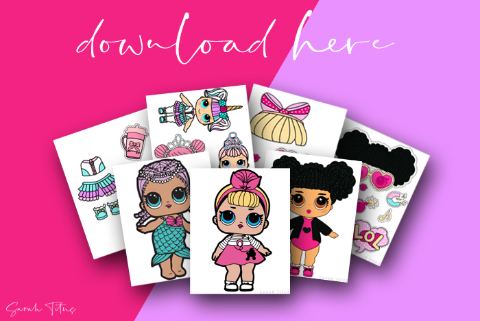 Cute Paper Dolls Printable Free For Kids