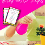 This Natural Garden Spray (+ essential oil spray bottle recipes for pest control) made with essential oils and water is the perfect, all natural way to keep your garden and home pest free and help your flowers and vegetables flourish!