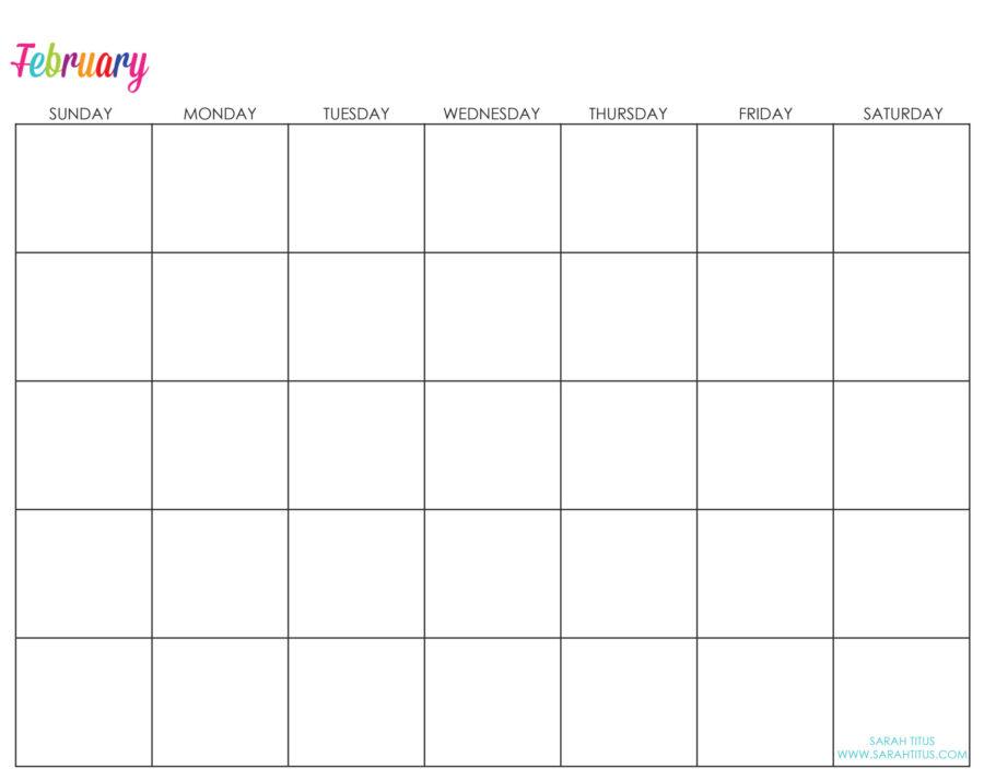 Undated-February-Calendar