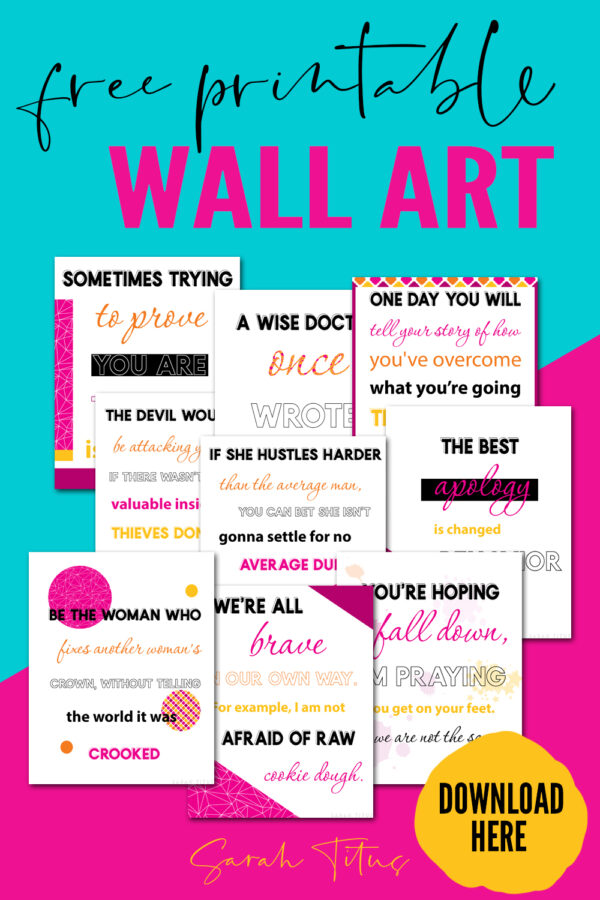 Favorite quotes to live by! Hang them on your walls, frame them and give as a gift, put them anywhere you want to be inspired and encouraged! Perfect wise & positive truths for girls. #deep #motivational #life #wellsaid