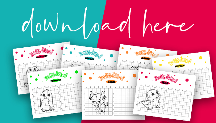 Easy Cute Animals To Draw Step By Step Free Printable