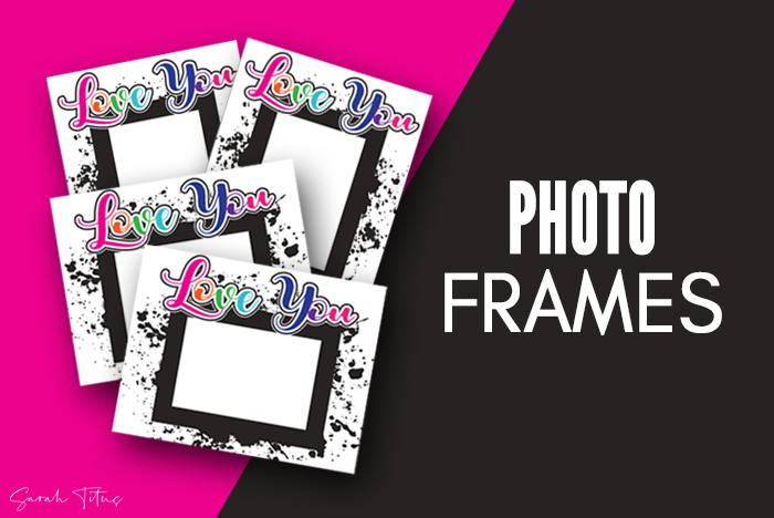 Cute Free Printable Photo Frames Art For Your Pictures