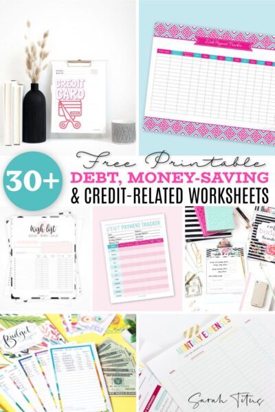 Getting out of debt is tough, but I have successfully been able to get out of $30k+ debt as a single mom by using this one printable debt payoff sheet. There's also 30 more printables here to help you in your debt payment journey! You can do this!!!