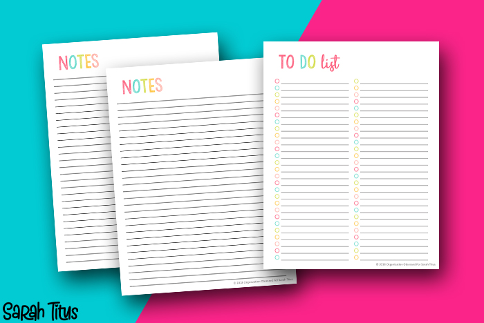 Student-Notes-and-To-Do-List