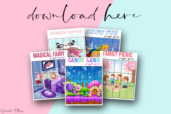 Adorable Artwork Puzzle Games Printable For Girls To Enjoy