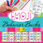 Would you like these awesome behavior bucks reward system printables for FREE? They are the perfect printable templates to get kids to enjoy being on their best behavior and doing chores! Kids will have fun whilst learning to behave, and parents will love seeing their kids behavior improving! Kids will also love to chart how much pretend money they earn each day/week/month! #forhome