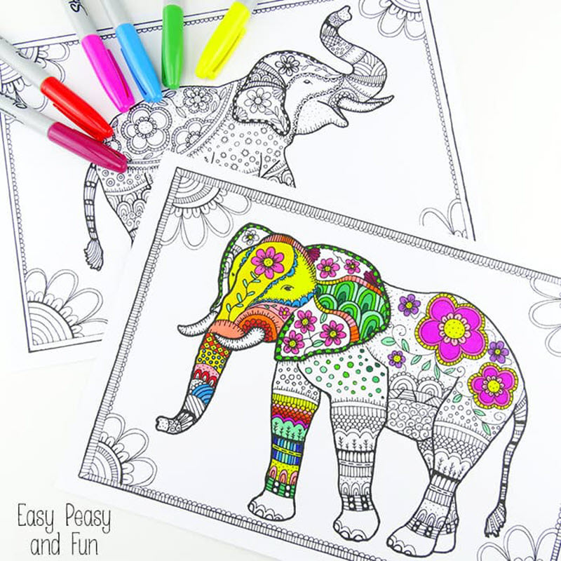 140+ Best Free Coloring Sheets - Sarah Titus From Homeless To 8-Figures