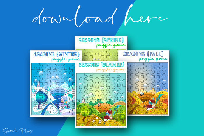 Cute Artwork Puzzle Games Printables Kids Will Love