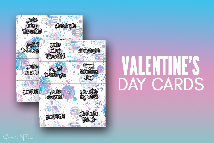 Cute Out Of This World Free Printable Valentine Cards